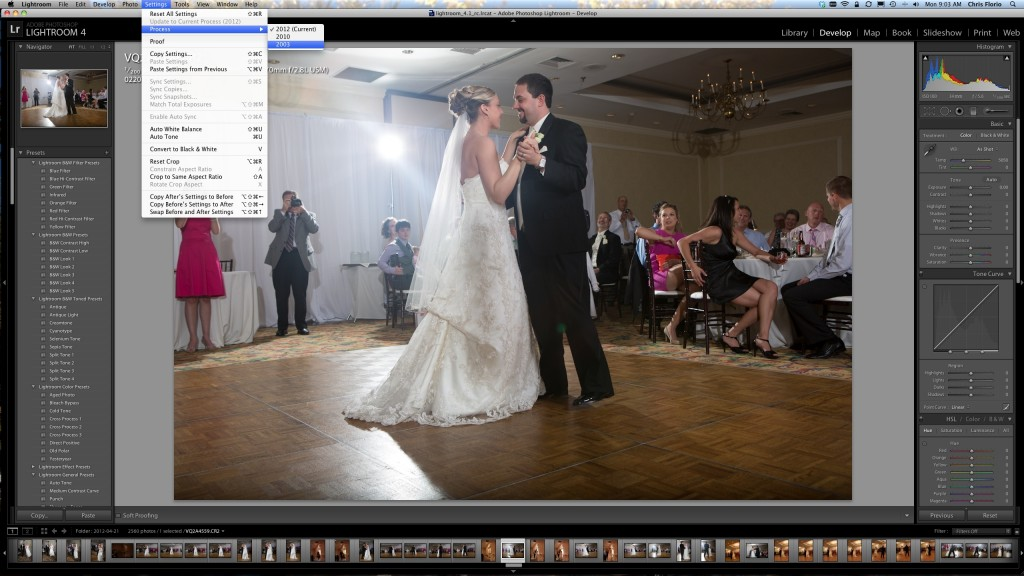 Using Ligtroom 3 Presets in Lightroom 4
