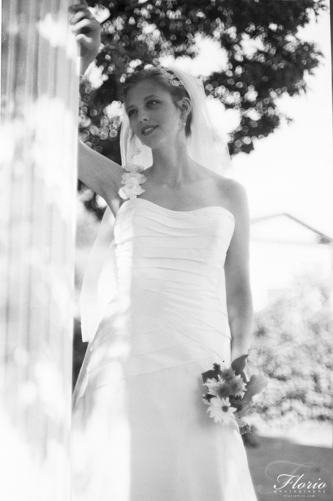 Bridal Portrait - UNC Chapel Hill Campus