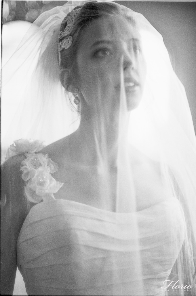 Black and White - Ilford Delta 100 Bridal Portrait
