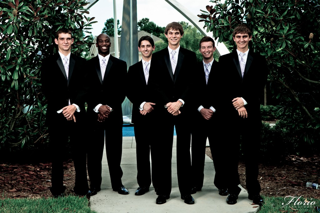 The Groom and his Groomsmen Photography