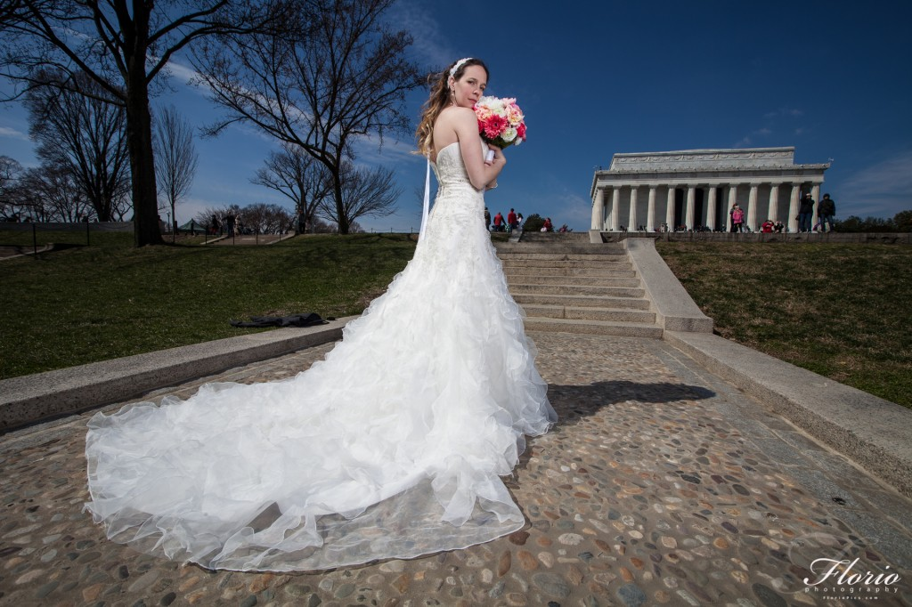 Washington D.C. Bridal Portraits
