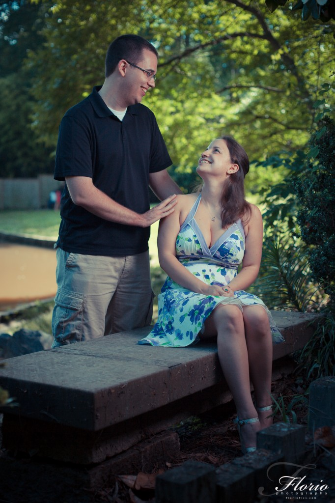 Duke Gardens Engagement Photos
